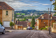 English evening village Stock Images