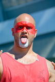 English fan arrive to BC Place Stadium Stock Photography