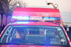 English Fire Truck Stock Images