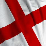 English Flag Closeup stock photos