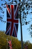 English flag. The photo of English flag Royalty Free Stock Images