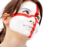 English flag portrait Stock Image