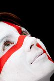English flag portrait Royalty Free Stock Photo