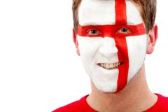 English flag portrait Royalty Free Stock Photography