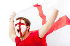 English flag portrait Stock Photography