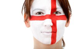English flag portrait Royalty Free Stock Photos