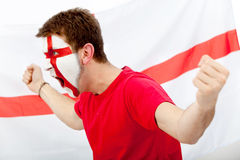 English flag portrait Royalty Free Stock Images