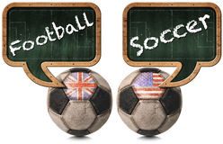 English Football and American Soccer Stock Photos