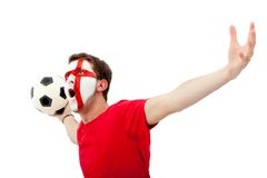 English football fan Stock Images