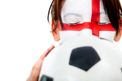 English football fan Stock Photo