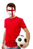 English football fan Royalty Free Stock Images