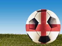 English football Royalty Free Stock Images