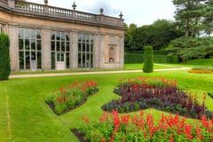 English formal gardens royalty free stock photos