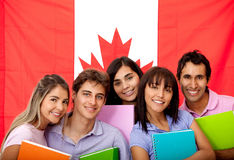 English or French students Royalty Free Stock Images
