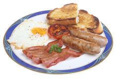 English Fried Breakfast Royalty Free Stock Photos