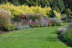 English garden. Path, September 2009 Royalty Free Stock Photo