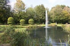 English garden in autumn Stock Photos