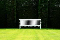 English Garden Bench stock images