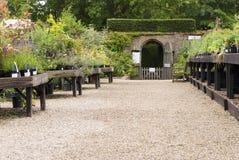 English garden centre. Suffolk, UK Stock Image