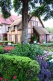 English Garden at Epcot royalty free stock photography