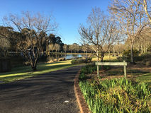 The English Garden. At Fagan Park at Galston in Sydney`s north royalty free stock photography