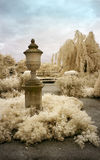 English Garden in Infrared Royalty Free Stock Images