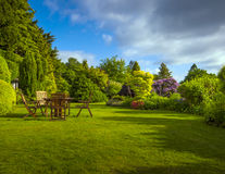 English garden Royalty Free Stock Photography
