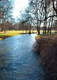English Garden of Munich in Bavaria in the autumn Royalty Free Stock Photo