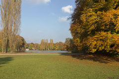 The english garden in Munich, Germany Royalty Free Stock Photo