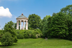 English Garden park in Munich Stock Images