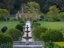 English garden in Port Arthur, Tasmania Royalty Free Stock Image