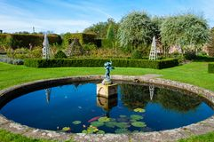 English  garden in Summertime Royalty Free Stock Images