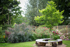 English Garden Royalty Free Stock Photo