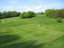 English golf course Royalty Free Stock Image