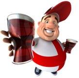 English guy with beers Stock Image