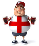 English guy with beers Stock Images