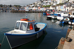 English harbour Stock Photo