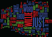 English Has Come A Long Long Way Word Cloud Concept Royalty Free Stock Photo