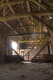 English hay barn interior Royalty Free Stock Photos