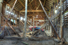 English hay barn Stock Image