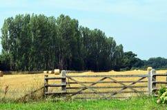 English hay field Royalty Free Stock Photography