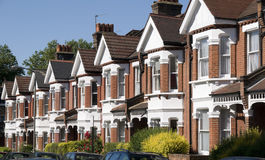 English Homes Royalty Free Stock Photography
