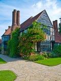 English house stock photo