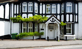 English house. Old victorian style english house royalty free stock photos