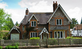 English house. Old victorian style english house royalty free stock images
