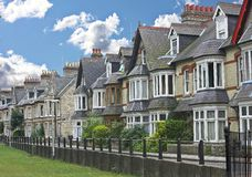 English houses Stock Image
