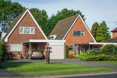 English houses Stock Photography