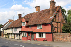 English houses Stock Photography