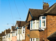 English houses Royalty Free Stock Photos