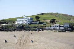 English islands Burgh Island Devon UK Stock Image